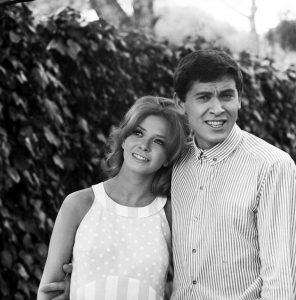 Laura Efrikian e Gianni Morandi ai tempi del loro amore