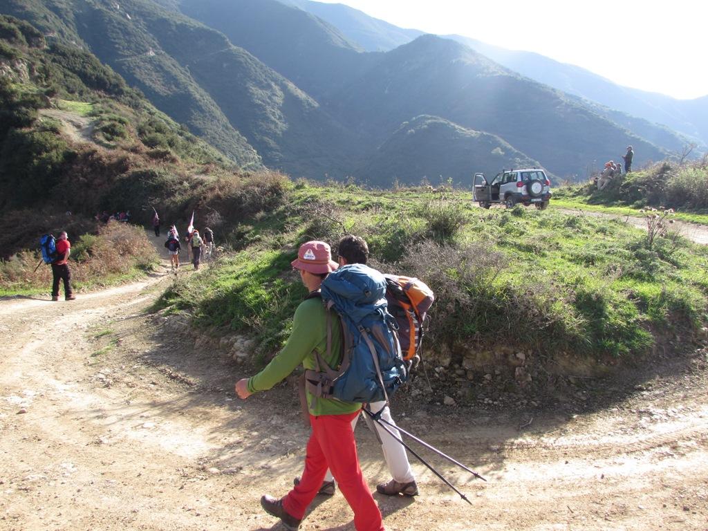 compagni di cammino viaggio a piedi