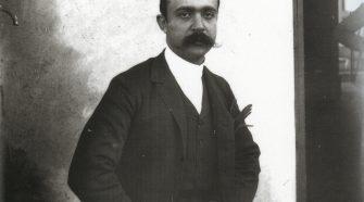 Lo scrittore Federico De Roberto