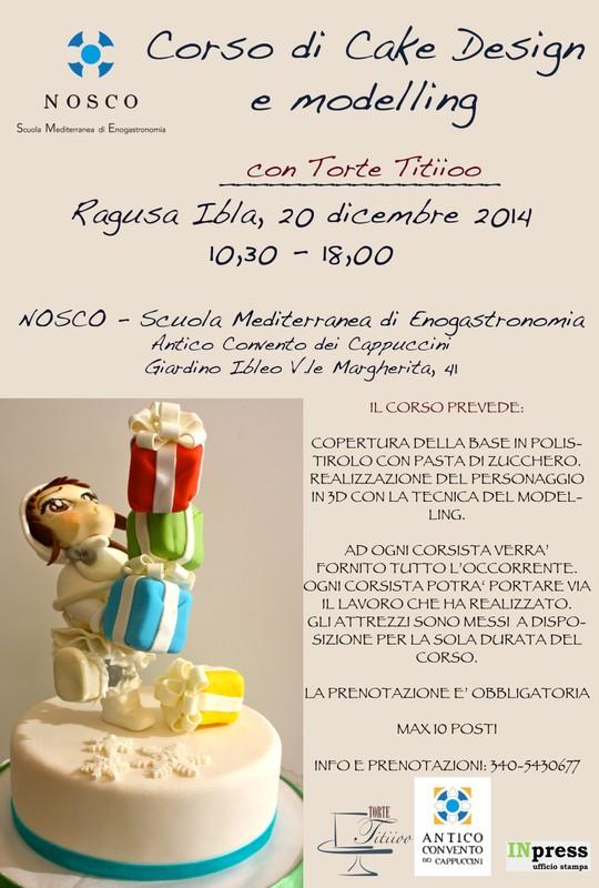 Corso Di Cake Design Ragusa : Corso di cake design a Ragusa - Sicilia & Donna - Rivista ...
