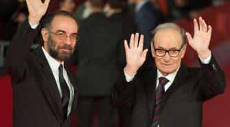 Giuseppe Tornatore ed Ennio Morricone