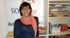 Nella foto Laura Pepe, presidente dell'associazione onlus Special children. Da anni si occupa di autismo