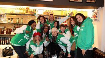 La squadra di basket femminile Passalacqua