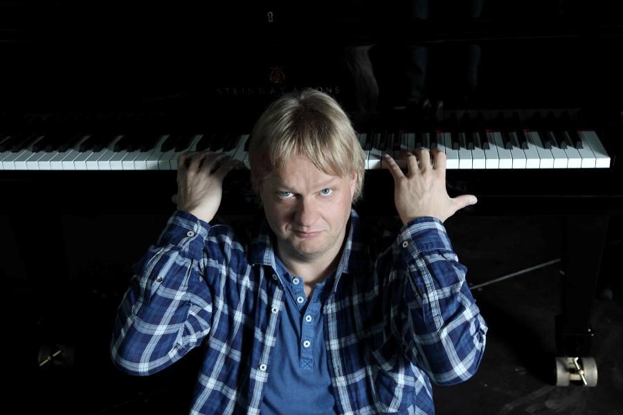 Per il circuito jazzistico siciliano, al pianoforte il finlandese Iiro Rantala