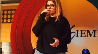 La cantante Deborah Iurato ospite ad Insieme