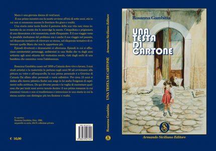 Nella foto la copertina del romanzo di Rosanna Gambitta