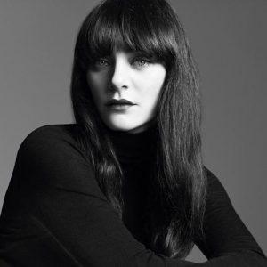 La make up artist Lucia Pica