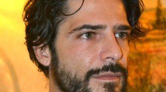 """Nella foto l'attore Marco Bocci protagonista del film girato in Sicilia """"Italo""""."""