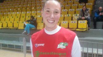 La giocatrice di basket Sara Canova