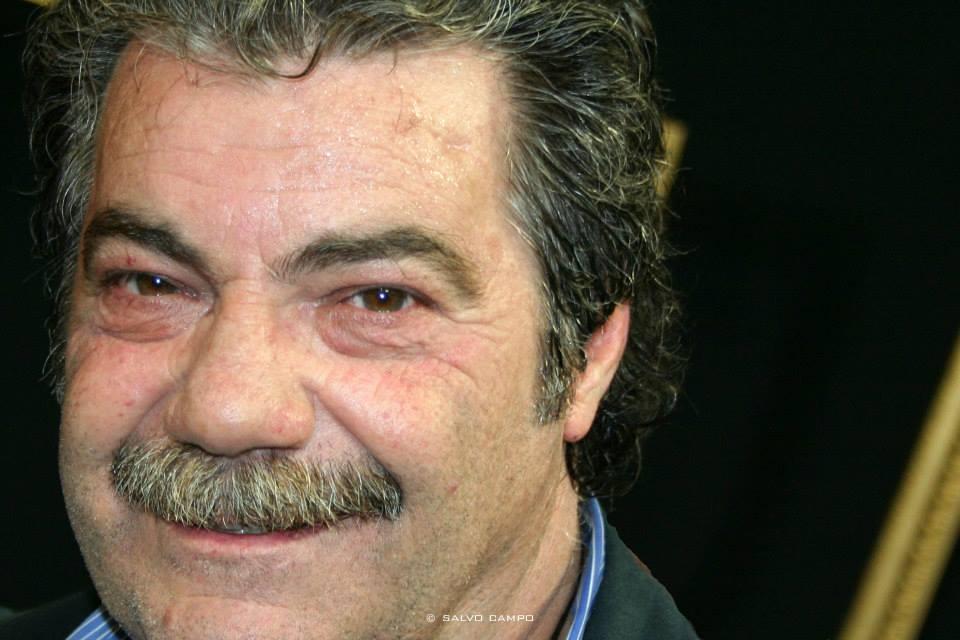 Nella foto l'attore Mimmo Mignemi
