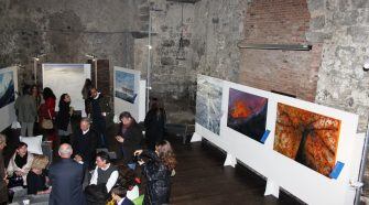 Un particolare della mostra InsulAmata. Foto Angela Marina Strano