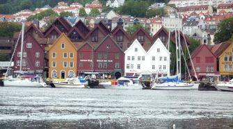 Paesaggio tipico della Norvegia