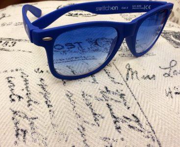 Gli occhiali di plastica riciclata Switchon