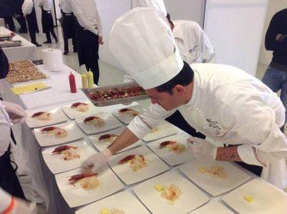 Nella foto lo chef premiato Gaetano Quattropani