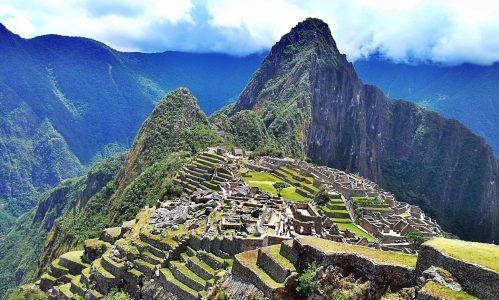 Il Machu picchu in Perù