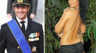 Il principe di Svezia Carlo Filippo e la futura moglie Sofia