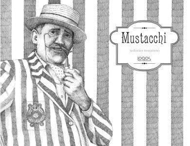 Nella foto la copertina del libro Mustacchi di Antonio Bonanno