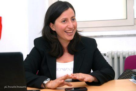 Nella foto Cristina Scuderi, direttore di Compagnia delle Opere Sicilia Orientale