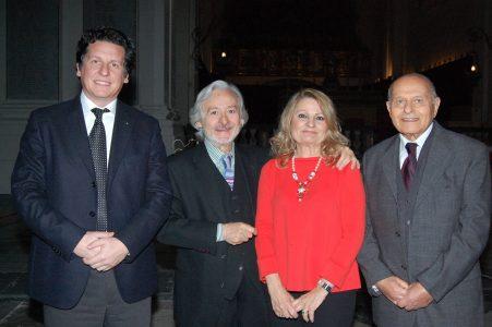 Nella foto Diego Cannizzaro,  Leo Gullotta, Sarah Zappulla Muscarà, Enzo Zappulla
