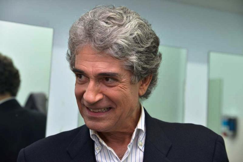 L'attore Gianfranco Jannuzzo. Foto Vincenzo Musumeci