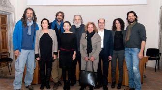 Nella foto il team che seguirà Il posto dei racconti (foto di Brunella Bonaccorsi)