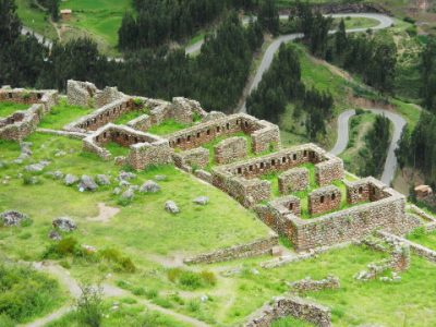 Le rovine della cittadella di Pisac