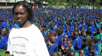 Bambini del Kenia sostenuti dalla Fondazione Avsi