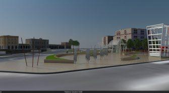 Il rendering della stazione Giovanni XXIII della Metropolitana di Catania