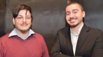 Riccardo Greco e Davide Abate. Hanno realizzato la serie web Let me out