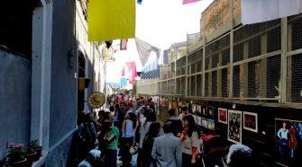Un momento della manifestazione Castello Ursino liberato che vede tra i promotori L'Officina GammaZ