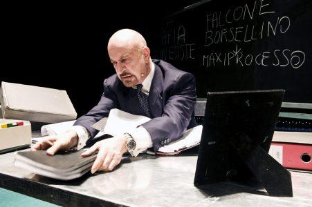 Sebastiano Lo Monaco in Per non morire di mafia (foto di Margherita Mirabella)