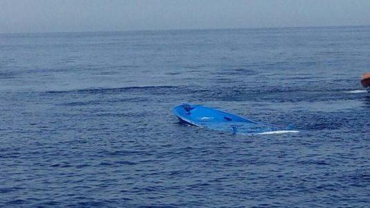 Barcone affondato
