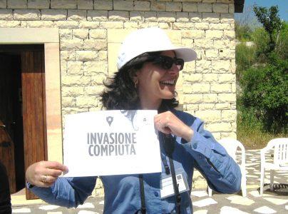Nella foto Laura Sapuppo, presidente dell'associazione Archeorama.Foto Angela Marina Strano