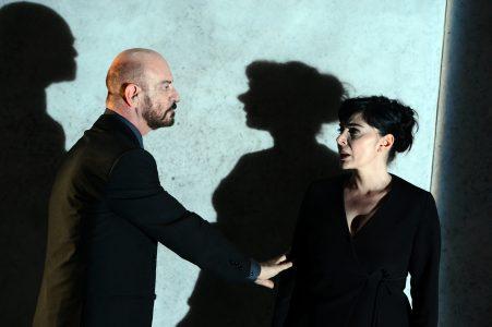 Sebastiano Lo Monaco e Mariangela D'Abbraccio in  Dopo il silenzio (foto di Tommaso Le Pera)