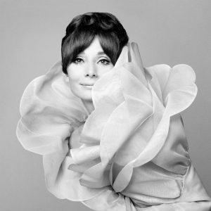 Audrey Hepburn ritratta da Gian Paolo Barbieri per Vogue Italia nel 1969