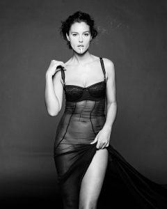 Monica Bellucci per D&G nel 2000, foto di Gian Paolo Barbieri