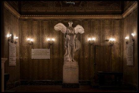 Il sacrario dei caduti realizzato dall'ingegnere Alessandro Vucetich