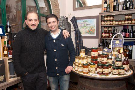Antonio Rosano e Giovanni  Samperi, tra i fondatori dell'associazione Tersicula. Foto Brunella Bonaccorsi