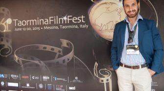 Elio Sofia al Taormina Film Festival 2015 (foto di Brunella Bonaccorsi)