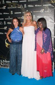 Rosario Dawson, Tiziana Rocca e Abrima Erwiah