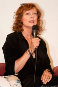 Susan Sarandon . Foto Brunella Bonaccorsi