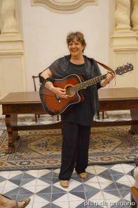 La cantante Cinzia Sciuto. Foto De Gregorio