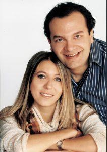 Enrico Castiglione e la moglie Sonia Cammarata, costumista