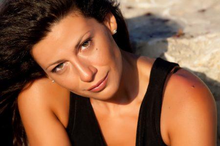 L'attrice Valeria Contadino