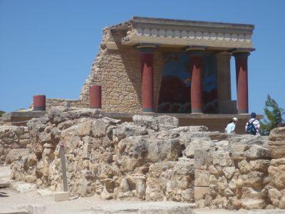 Creta, il palazzo di Cnosso. Foto di Brunella Bonaccorsi