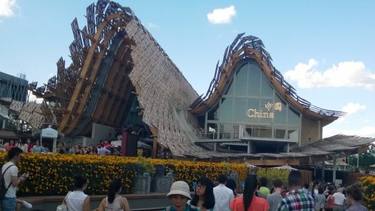 Expo 2015, Milano, il padiglione della Cina