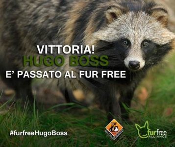 hugo boss fur free