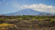Camporotondo Etneo.Veduta sul campo lavico dell'eruzione del 1669 (foto di Giuseppe Di Stefano) per Etna Walking Rural