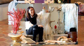 Nella foto la stilista Marella Ferrera