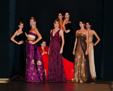 Gli abiti di Michele Miglionico al Luxury Show 2011